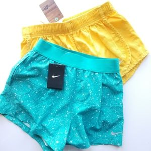 new Bundle of 2 Nike Running Shorts Size Small